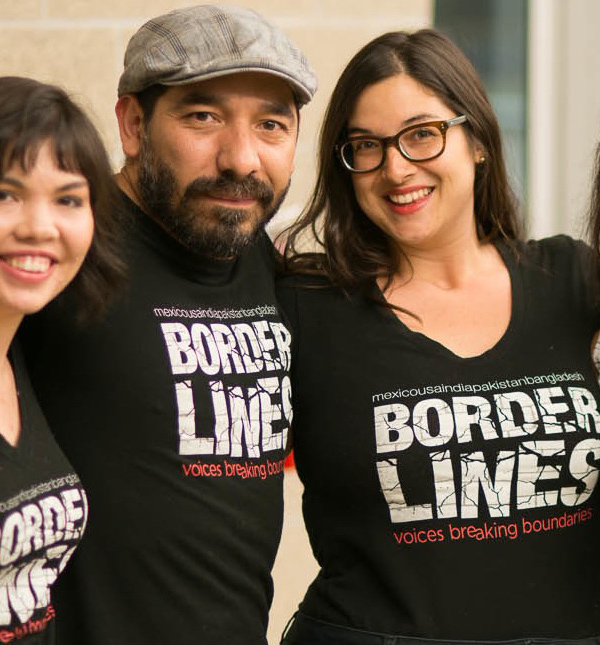 Voices Breaking Boundaries VBB Arts Borderlines TShirt
